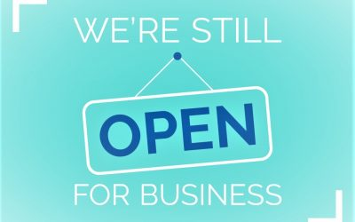 Covid-19 Update – We are Open for Business